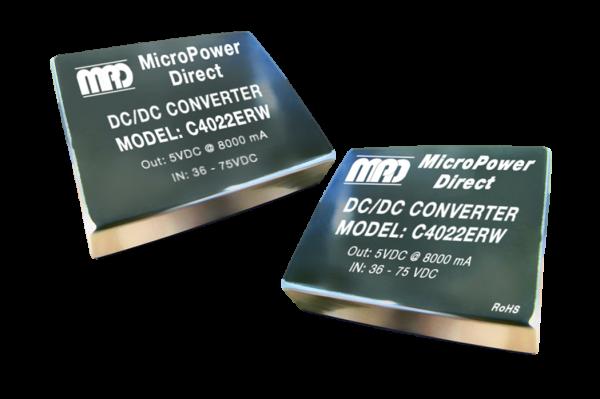 C4011ERW   DC/DC   Ein: 18-36 V DC   Aus: 3,3 V DC   MicroPower Direct