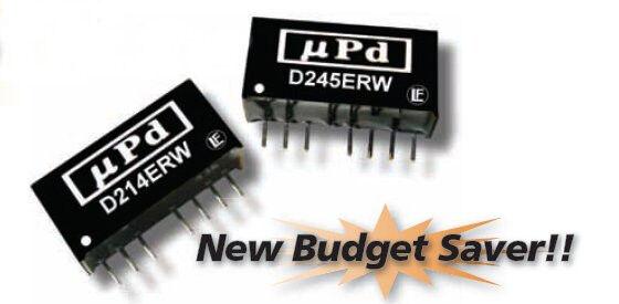D235ERW | DC/DC | Ein: 36-72 V DC | Aus: 15 V DC | MicroPower Direct