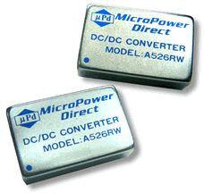 A514RW | DC/DC | Ein: 18-36 V DC | Aus: 15 V DC | MicroPower Direct
