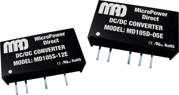 MD105S-15E | DC/DC | Ein: 5 V DC | Aus: 15 V DC | MicroPower Direct