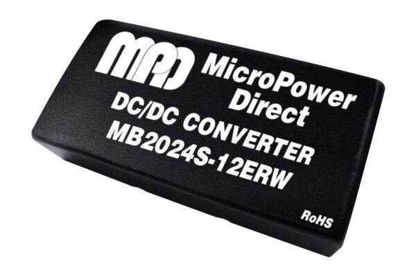 MB2024S-12ERW   DC/DC   Ein: 18-36 V DC   Aus: 12 V DC   MicroPower Direct
