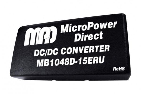MB1024S-12ERU   DC/DC   Ein: 9-36 V DC   Aus: 12 V DC   MicroPower Direct