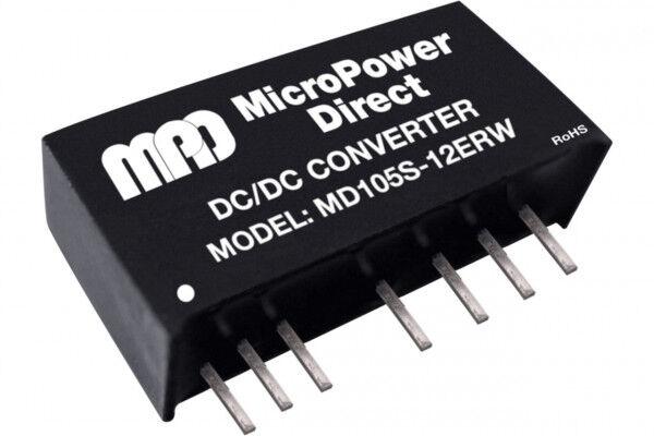 MD112S-09ERW   DC/DC   Ein: 9-18 V DC   Aus: 9 V DC   MicroPower Direct