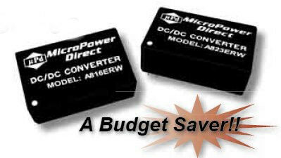 A832ERW | DC/DC | Ein: 36-75 V DC | Aus: 5 V DC | MicroPower Direct