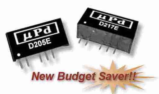 D222E | DC/DC | Ein: 24 V DC | Aus: 9 V DC | MicroPower Direct