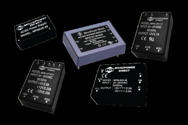 MPM-08D-0503PB   AC/DC   Aus: 5 V DC 3,3 V DC   MicroPower Direct