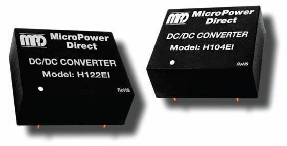 H112EI | DC/DC | Ein: 12 V DC | Aus: 5 V DC | MicroPower Direct
