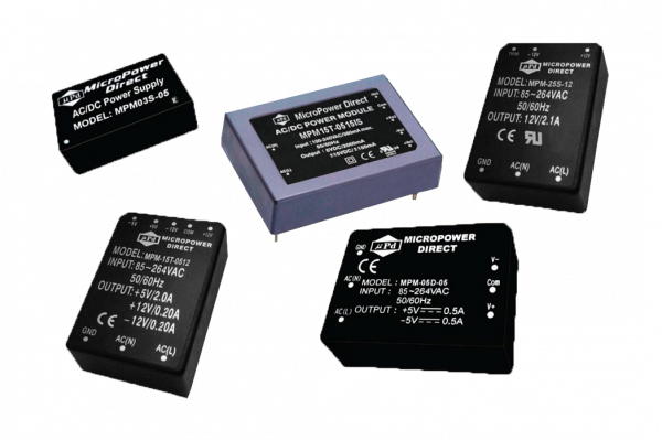 MPM-08D-1205PB   AC/DC   Aus: 12 V DC 5 V DC   MicroPower Direct