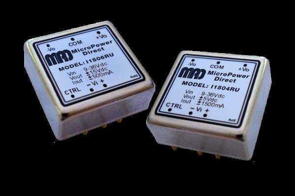 I1502RU | DC/DC | Ein: 9-36 V DC | Aus: 5 V DC | MicroPower Direct