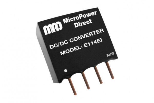 E102EI   DC/DC   Ein: 5 V DC   Aus: 9 V DC   MicroPower Direct