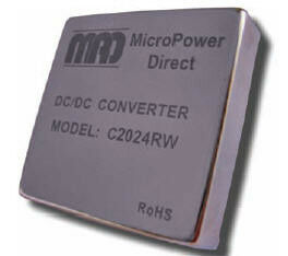 C2025RW   DC/DC   Ein: 36-75 V DC   Aus: 24 V DC   MicroPower Direct