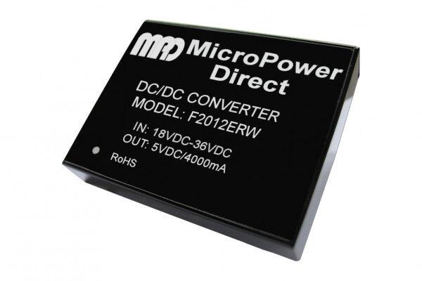F2022ERW   DC/DC   Ein: 36-75 V DC   Aus: 5 V DC   MicroPower Direct