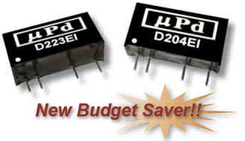 D203EI | DC/DC | Ein: 5 V DC | Aus: 12 V DC | MicroPower Direct