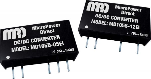MD105S-24EI | DC/DC | Ein: 5 V DC | Aus: 24 V DC | MicroPower Direct