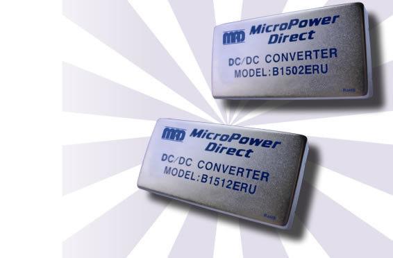 B1514ERU | DC/DC | Ein: 18-75 V DC | Aus: 15 V DC | MicroPower Direct