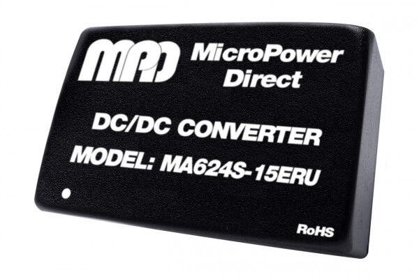 MA624S-12ERU   DC/DC   Ein: 9-36 V DC   Aus: 12 V DC   MicroPower Direct
