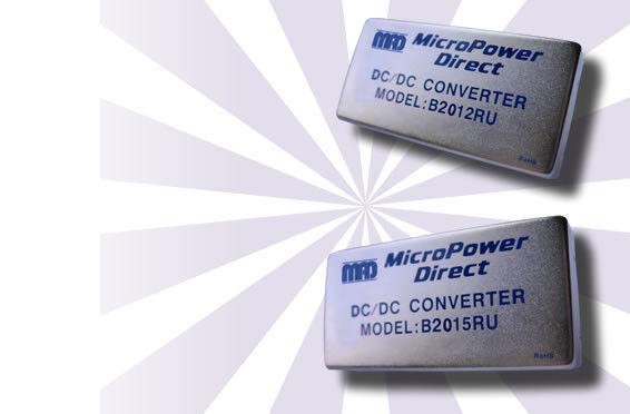B2012RU   DC/DC   Ein: 18-75 V DC   Aus: 5 V DC   MicroPower Direct